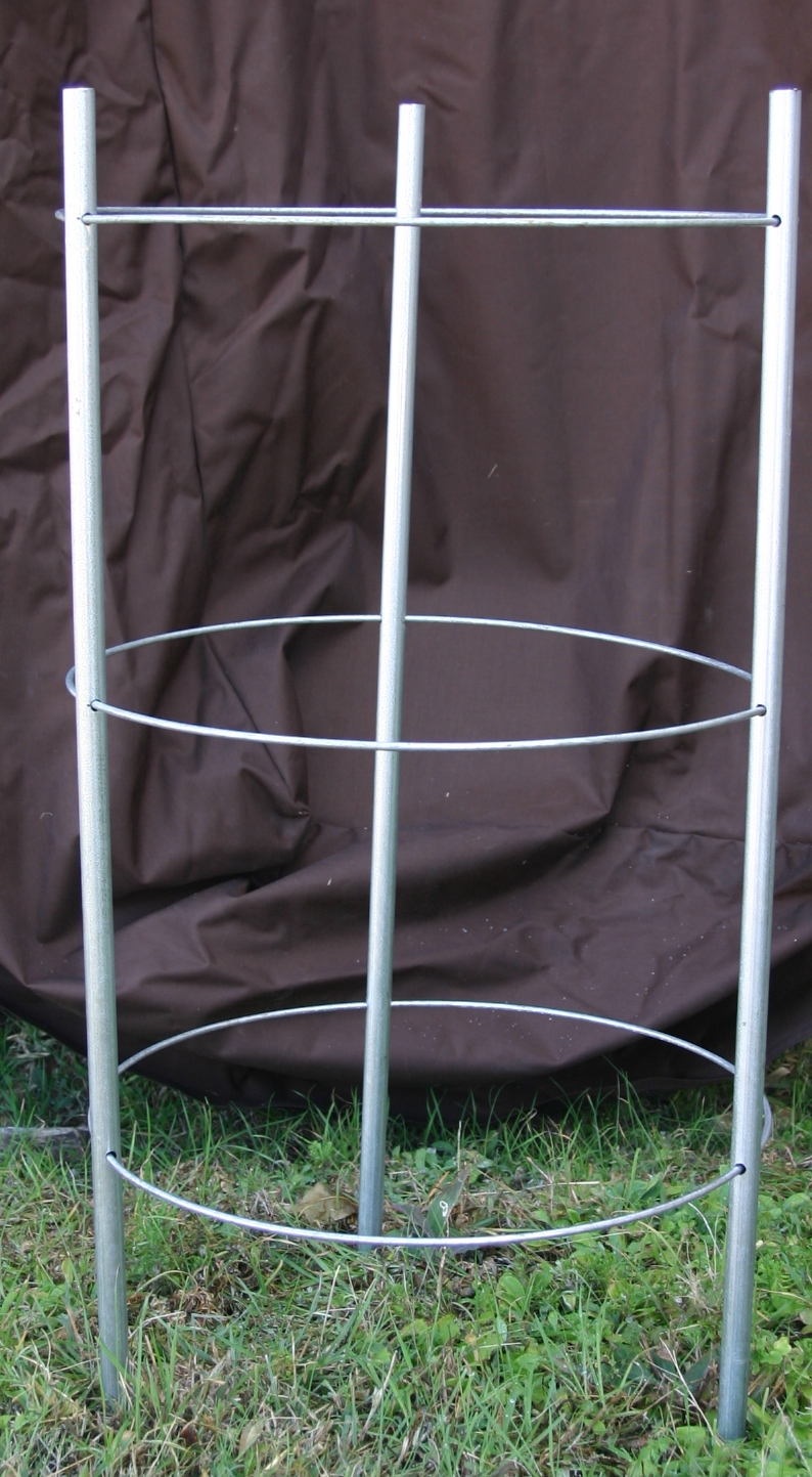 how to make collapsible tomato cages